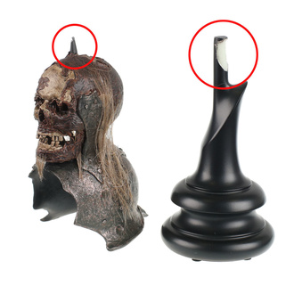 Статуетка Lord of the Rings - Lord of the Rings Replica Skull Trophy Helm of the Orc Lieutenant - WETA860402116 - ПОМИЛКА, NNM, Lord Of The Rings