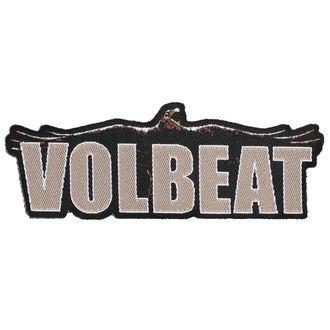 патч VOLBEAT - RAVEN LOGO CUT OUT - RAZAMATAZ, RAZAMATAZ, Volbeat