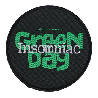 Патч Green Day - Insomniac - RAZAMATAZ, RAZAMATAZ, Green Day