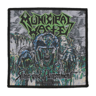 патч MUNICIPAL WASTE - SLIME AND PUNISHMENT - RAZAMATAZ, RAZAMATAZ, Municipal Waste