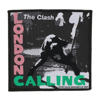 патч THE CLASH - LONDON CALLING - RAZAMATAZ, RAZAMATAZ, Clash