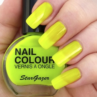 Лак для нігтів STAR GAZER - Neon Yellow, STAR GAZER