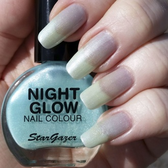 Лак для нігтів STAR GAZER - Glow In The Dark - Сяють Нефрит, STAR GAZER