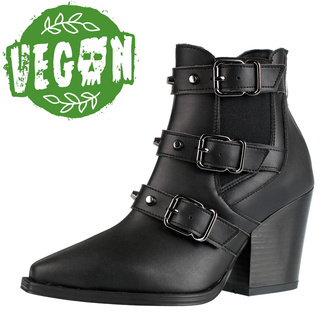 Жіночі черевики ALTERCORE - Amasha - Vegan Black, ALTERCORE