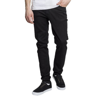 Чоловічі брюки URBAN CLASSICS - Basic Stretch Twill 5 Pocket - чорний, URBAN CLASSICS