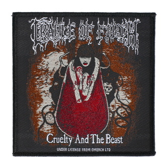 Патч Cradle Of Filth - Cruelty And The Beast - RAZAMATAZ, RAZAMATAZ, Cradle of Filth