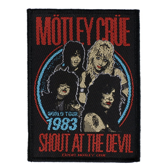 Патч Mötley Crüe - Shout At The Devil - RAZAMATAZ, RAZAMATAZ, Mötley Crüe