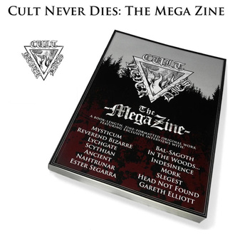 Книга Cult Never Dies: the Mega Horsehair (підписана), CULT NEVER DIE