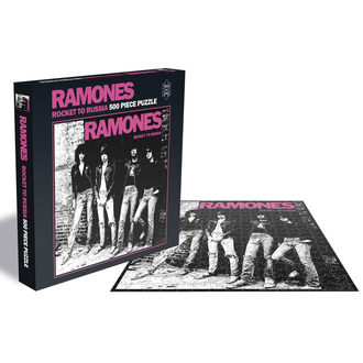 Пазл  RAMONES - ROCKET TO RUSSIA - PLASTIC HEAD, PLASTIC HEAD, Ramones