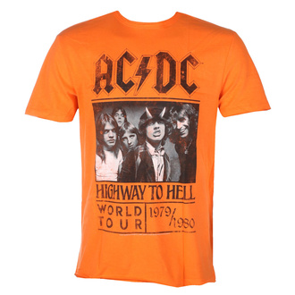 Чоловіча футболка AC / DC - HIGHWAY TO HELL TOUR - ORANGE CRUSH - AMPLIFIED, AMPLIFIED, AC-DC